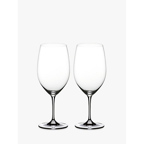 Buy Riedel Vinum Syrah / Shiraz Red Wine Glasses, Set of 2 Online at johnlewis.com