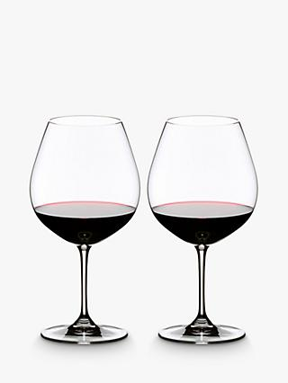 Riedel Vinum Pinot Noir Red Wine Glasses, Set of 2