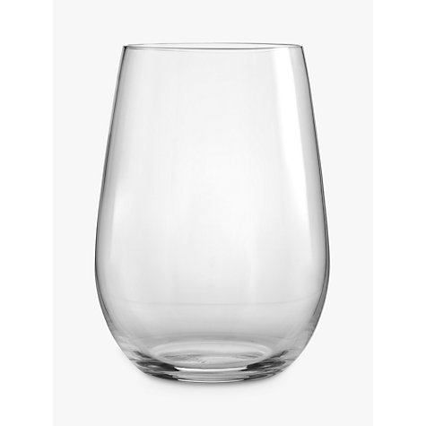 Buy Riedel 'O' Riesling/ Sauvignon Stemless Glass, Set of 2 Online at johnlewis.com
