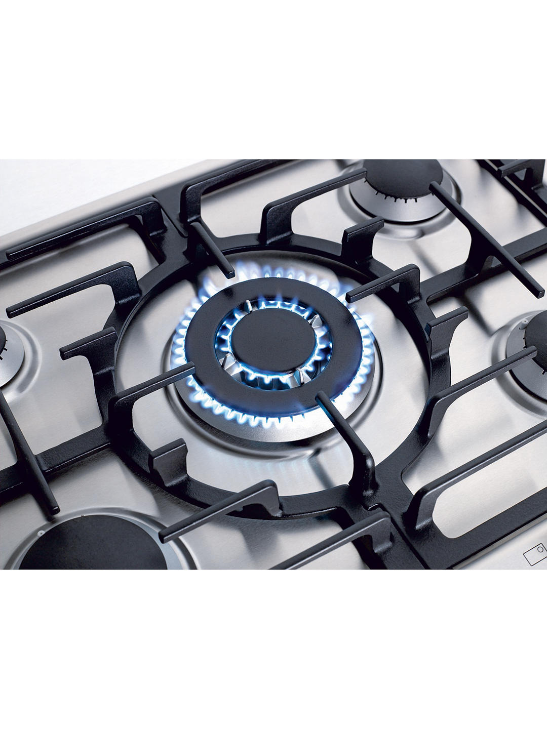 Buy Miele KM2032 60cm Gas Hob, Stainless Steel Online at johnlewis.com