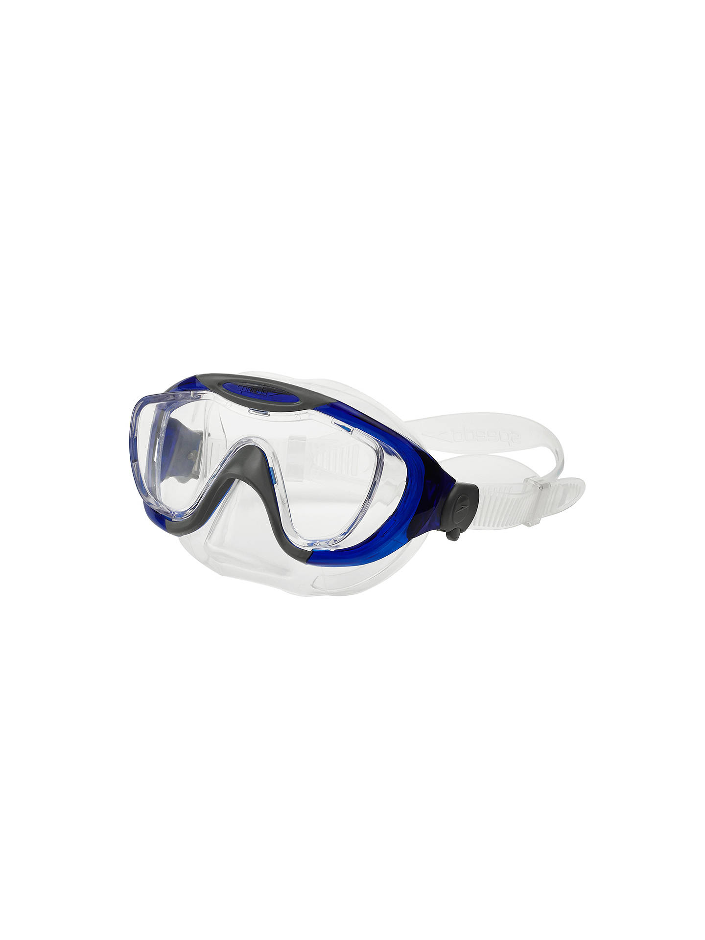 bf65a56e ... Buy Speedo Glide Mask & Snorkel Set, One Size Online at johnlewis. ...