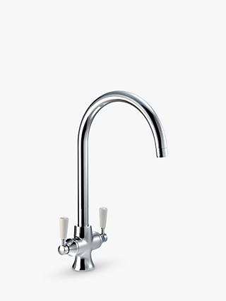 John Lewis & Partners Arc 2 Lever Monobloc Kitchen Tap
