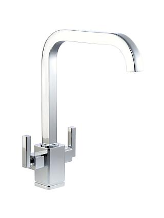 John Lewis & Partners Edge 2 Lever Kitchen Tap