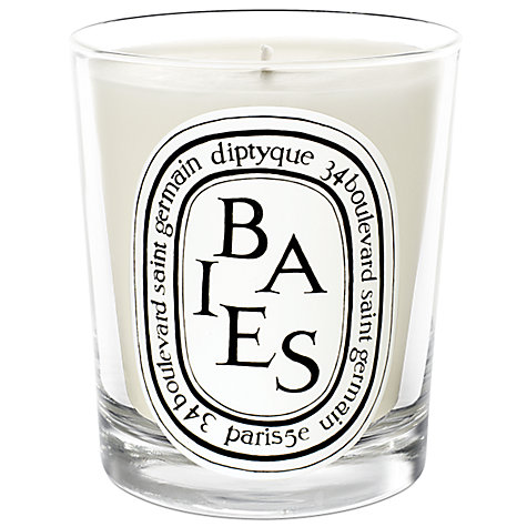 buy diptyque baies scented candle 190g john lewis