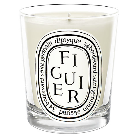 Buy Diptyque Figuier Scented Candle, 190g Online at johnlewis.com