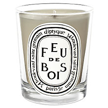 Buy Diptyque Feu de Bois Scented Candle, 190g Online at johnlewis.com