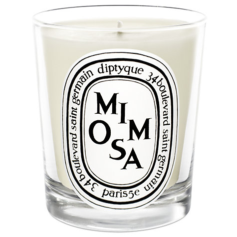 Buy Diptyque Mimosa Scented Candle, 190g Online at johnlewis.com
