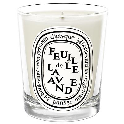 Diptyque Feuille de Lavande Scented Candle, 190g