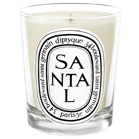 Buy Diptyque Santal Scented Candle, 190g Online at johnlewis.com