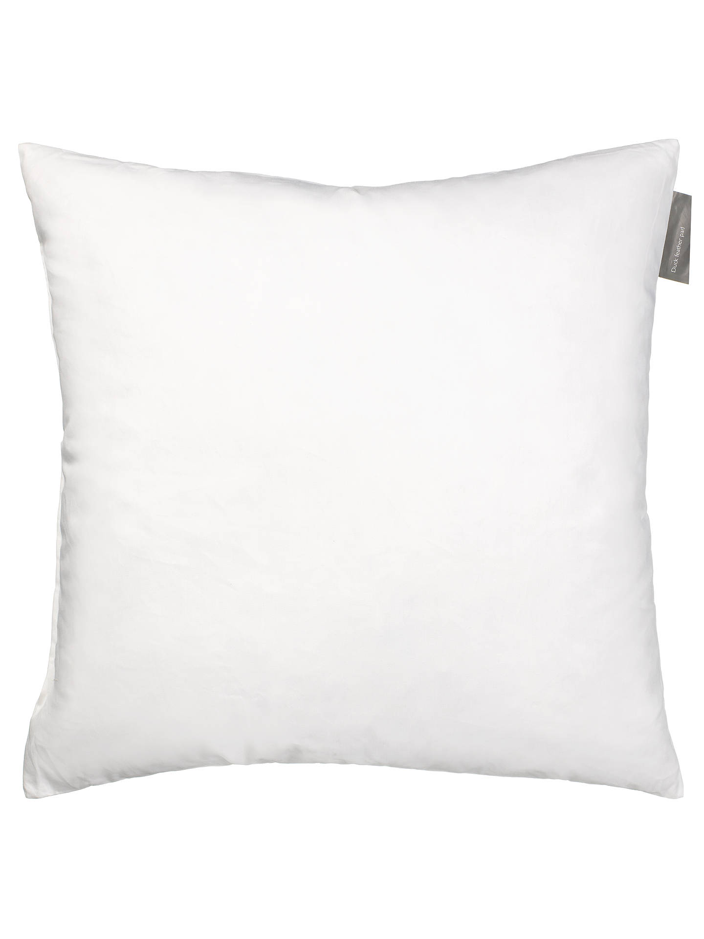 BuyJohn Lewis & Partners Duck Feather Cushion Pad, 30 x 30cm Online at johnlewis.com