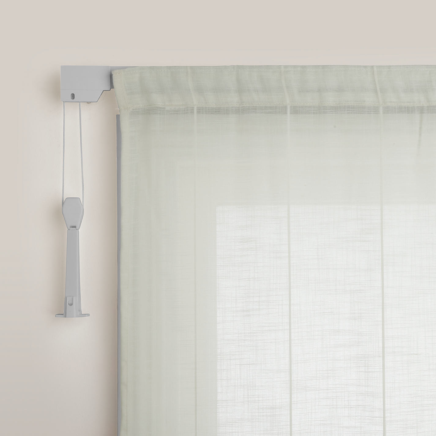 John Lewis Aluminium Corded Curtain Tracks From L350cm Online At Johnlewis Com