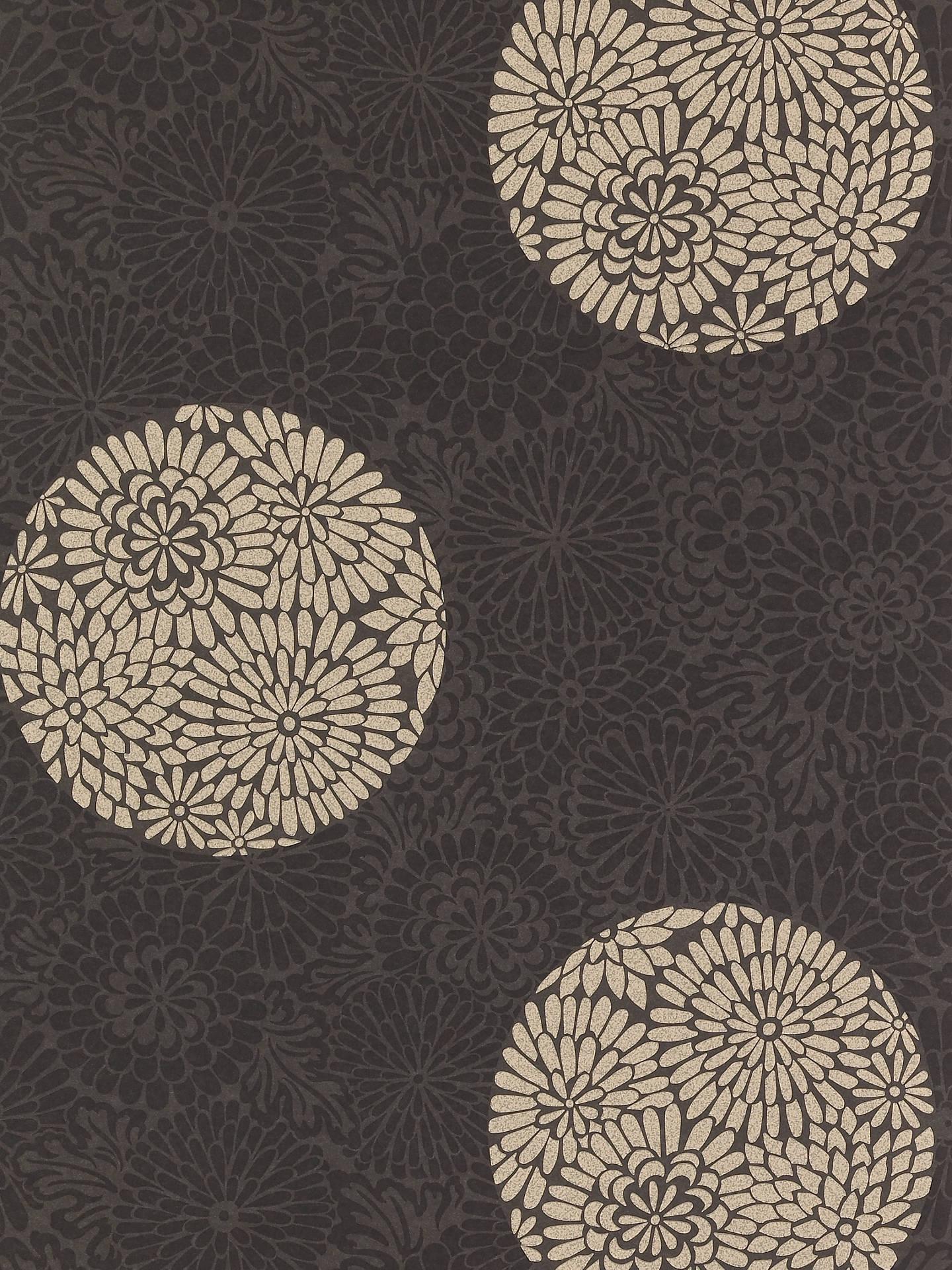Harlequin Wallpaper Intrigue 60019 Black Neutral At John