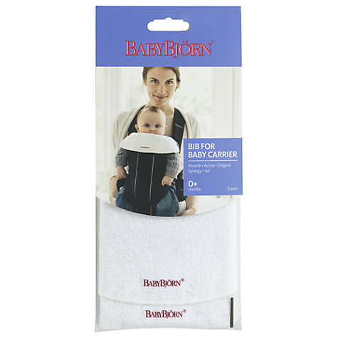 Buy BabyBjörn Bibs for Baby Carriers, Pack of 2 Online at johnlewis.com