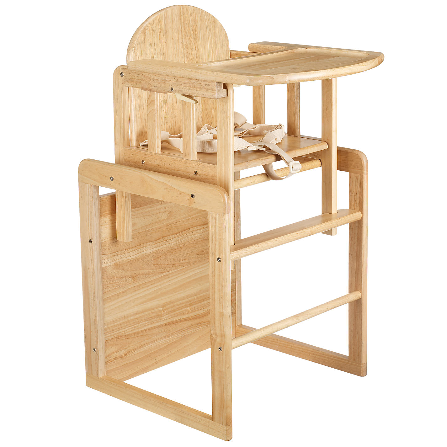 buy east coast combination wooden highchair | john lewis
