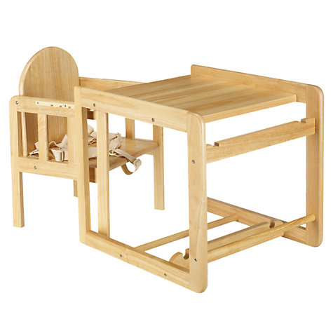 Buy East Coast Combination Wooden Highchair Online at johnlewis.com