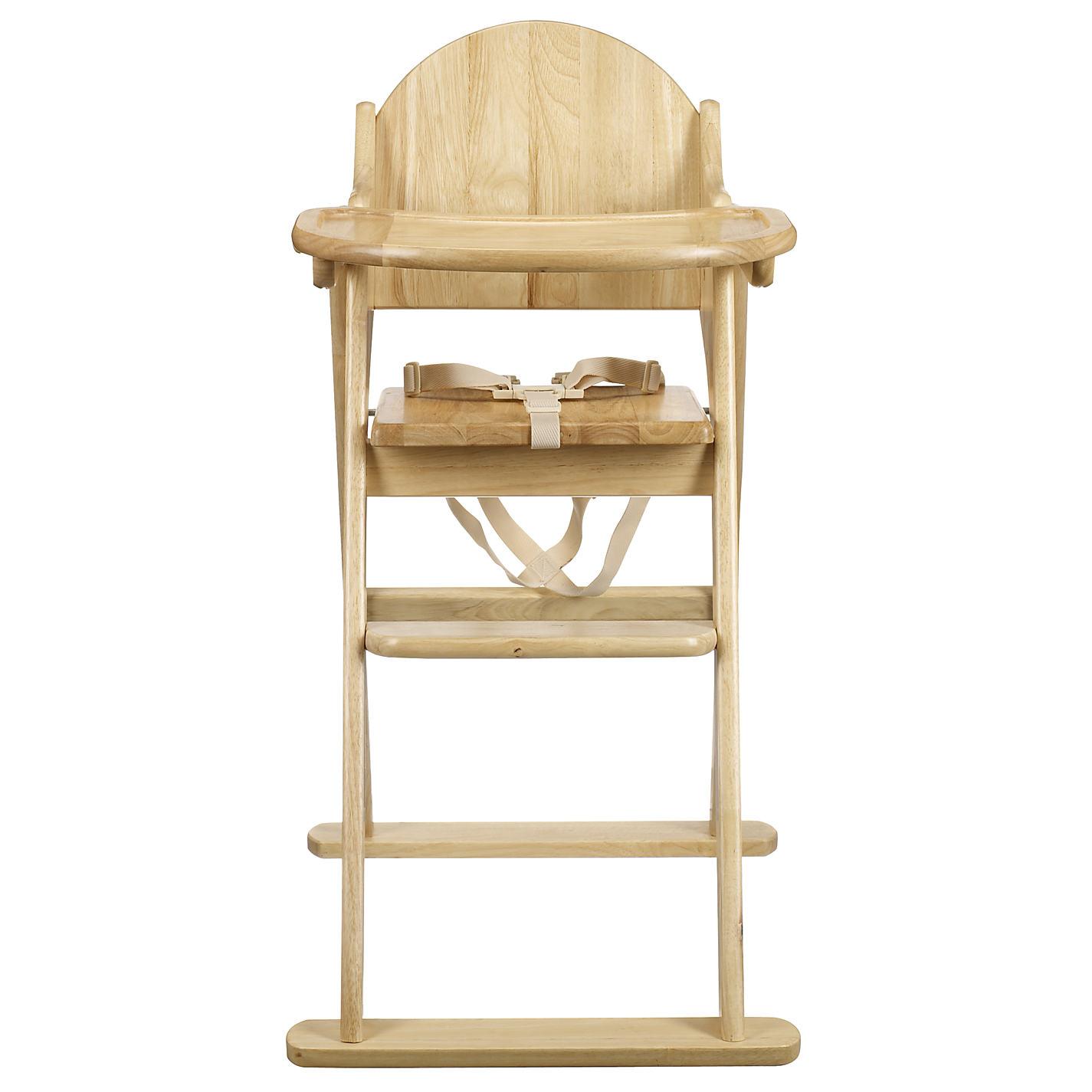 Buy East Coast Folding Wood Highchair