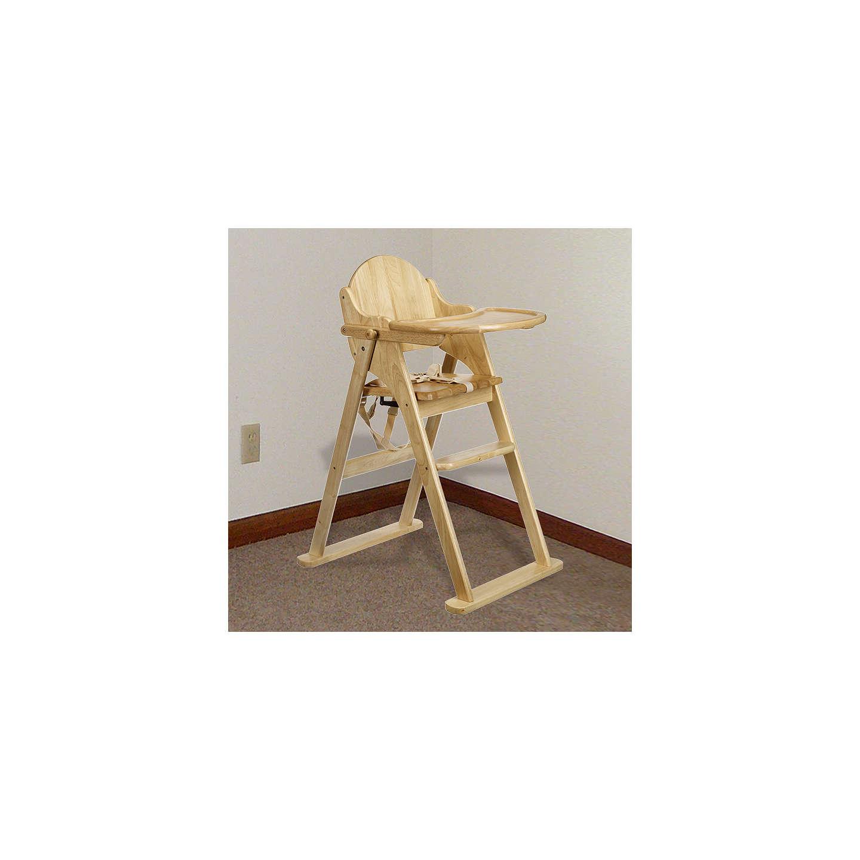 ... BuyEast Coast Folding Wood Highchair Online At Johnlewis.com