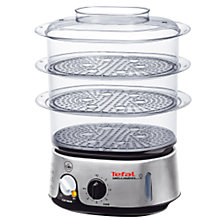 Buy Tefal VC101616 Steamer Online at johnlewis.com