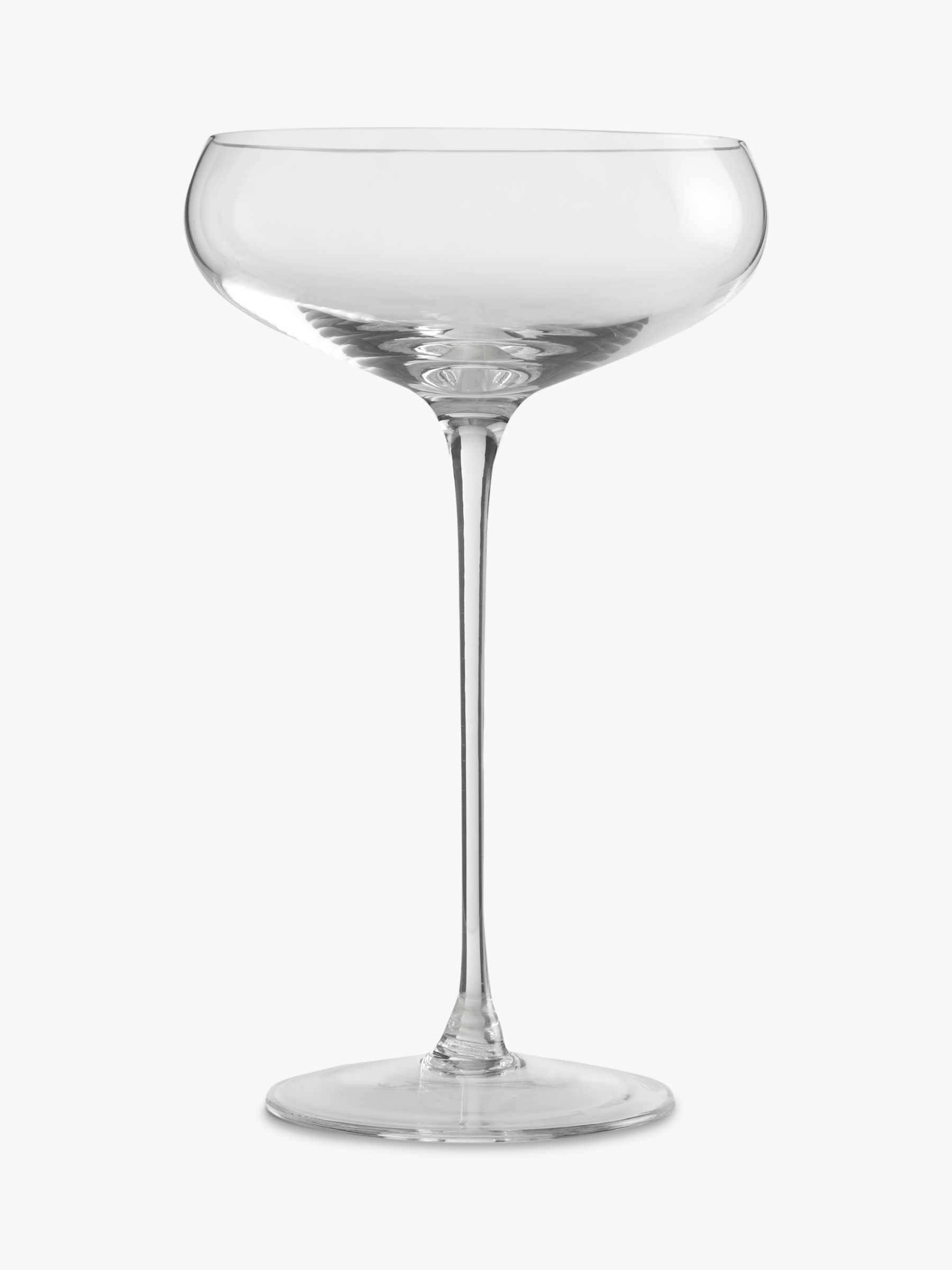 LSA International LSA International Bar Collection Champagne Saucers, Set of 4, 300ml