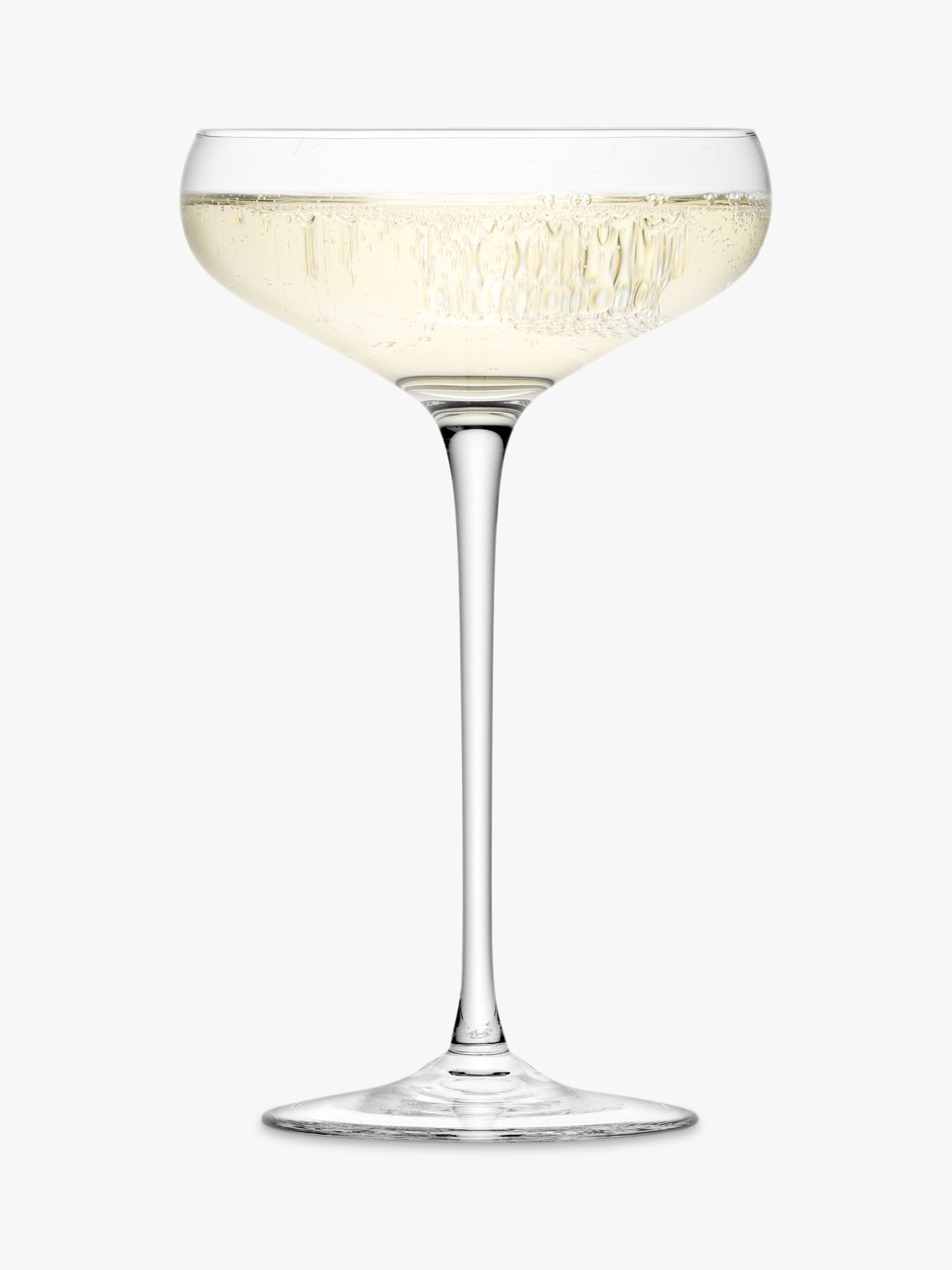Lsa International Bar Collection Champagne Saucers Set Of 4 300ml At John Lewis Partners