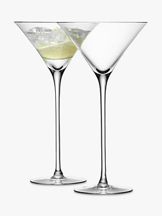 LSA Bar Collection Cocktail Glasses,Set of 2, 0.15L
