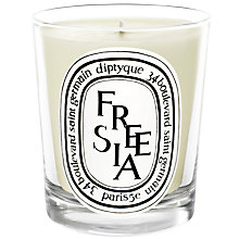 Buy Diptyque White Freesia Scented Candle, 190g Online at johnlewis.com