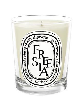 Diptyque White Freesia Scented Candle, 190g
