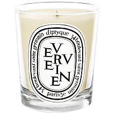 Buy Diptyque Verveine Scented Candle, 190g Online at johnlewis.com