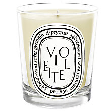 Buy Diptyque Violette Scented Candle, 190g Online at johnlewis.com