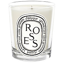Buy Diptyque Roses Scented Candle, 190g Online at johnlewis.com