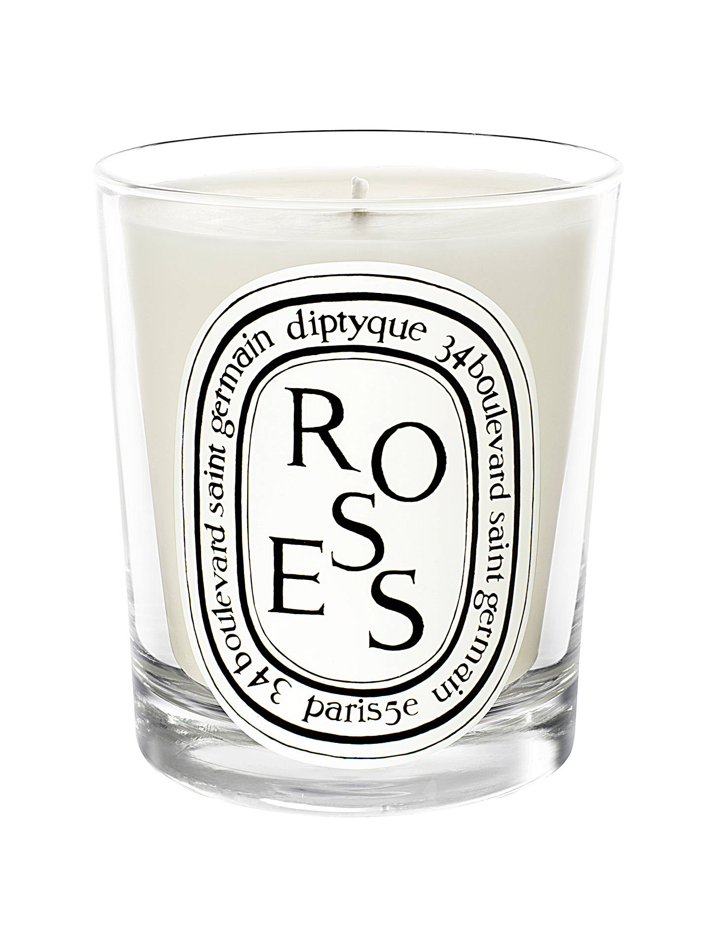 BuyDiptyque Roses Scented Candle, 190g Online at johnlewis.com