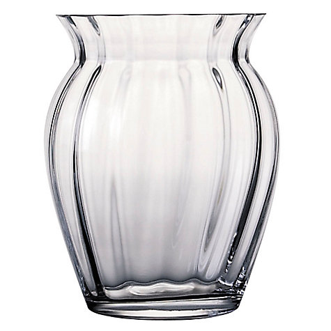 Buy Dartington Crystal Florabundance Tulip Vase Online at johnlewis.com