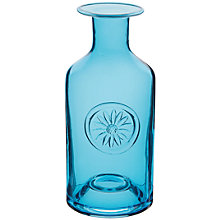 Buy Dartington Crystal Daisy Bottle Vase, Turquiose Online at johnlewis.com