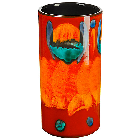 Buy Poole Pottery Volcano Column Vase, 17cm Online at johnlewis.com