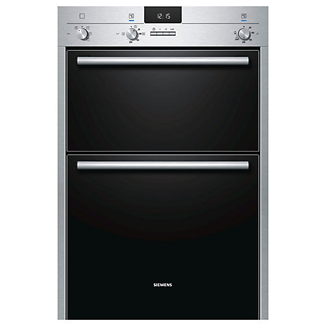 Buy Siemens HB13MB521B Built-In Double Electric Oven, Stainless Steel Online at johnlewis.com
