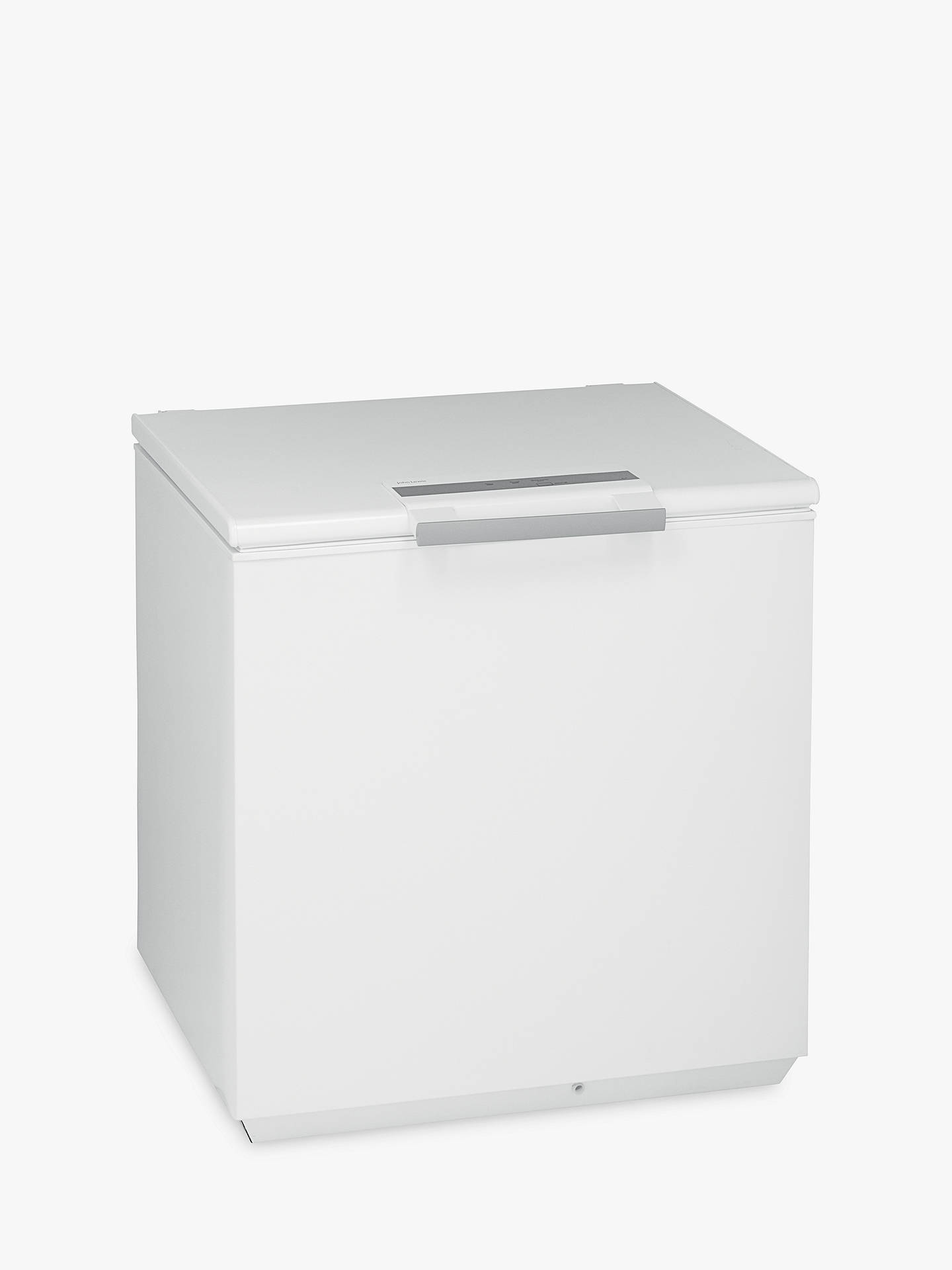 Buy John Lewis & Partners JLCH200 Chest Freezer, A+ Energy Rating, 80cm Wide, White Online at johnlewis.com