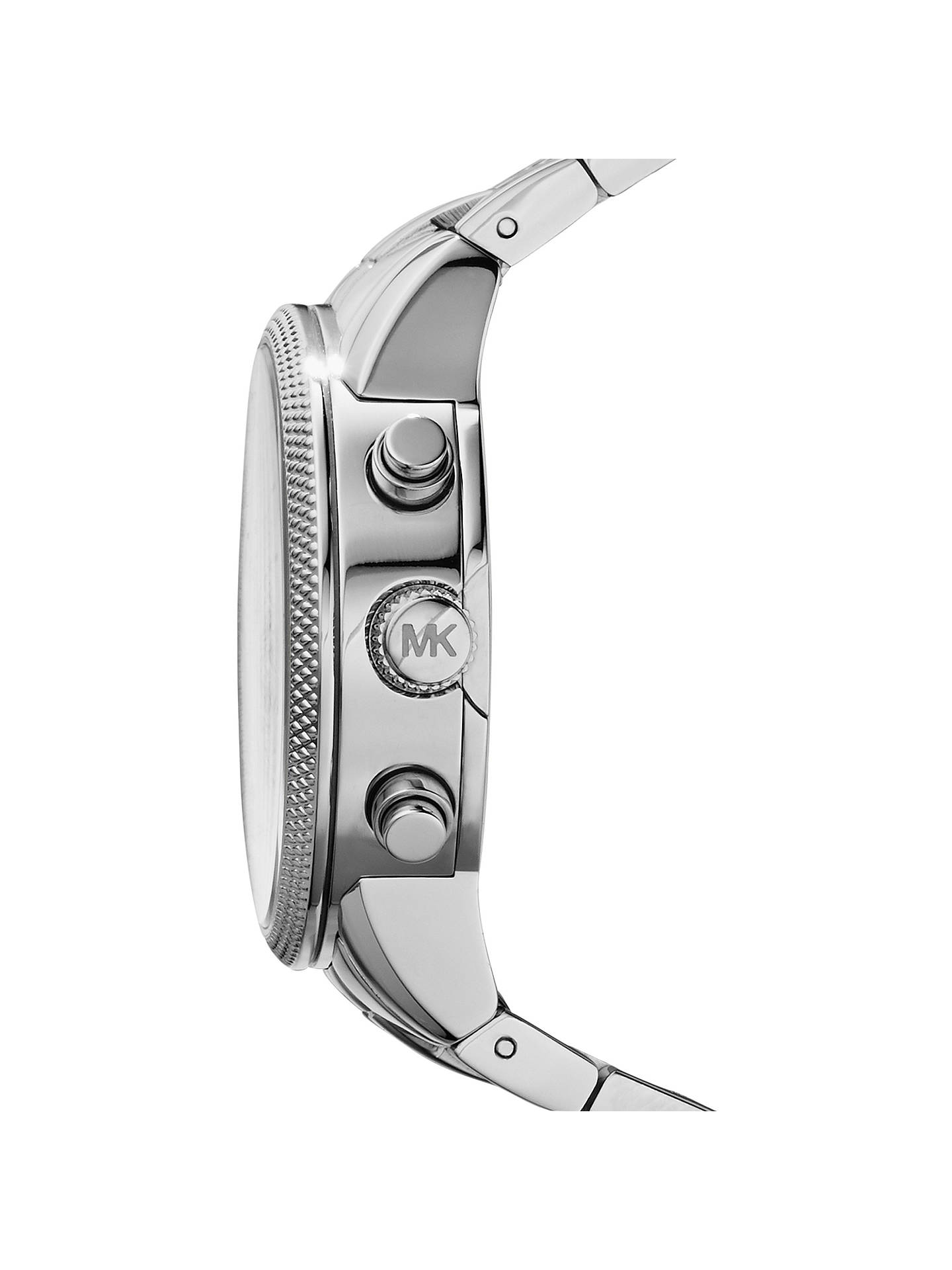 1b906dffde22 ... Buy Michael Kors MK5020 Women s Ritz Chronograph Stainless Steel  Bracelet Strap Watch