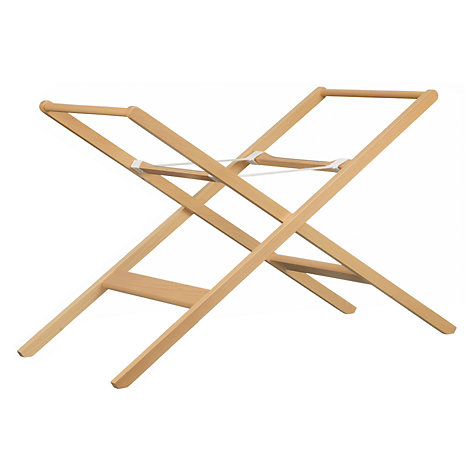 buy john lewis moses basket stand neutral john lewis. Black Bedroom Furniture Sets. Home Design Ideas