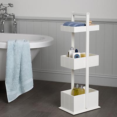 John Lewis St Ives 3 Tier Bathroom Storage Caddy