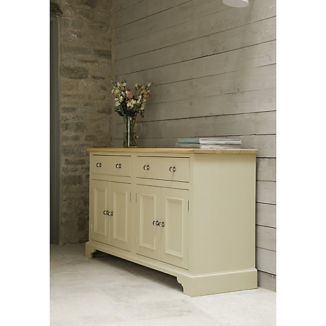 Buy Neptune Chichester 5ft Sideboard, Limestone Online at johnlewis.com