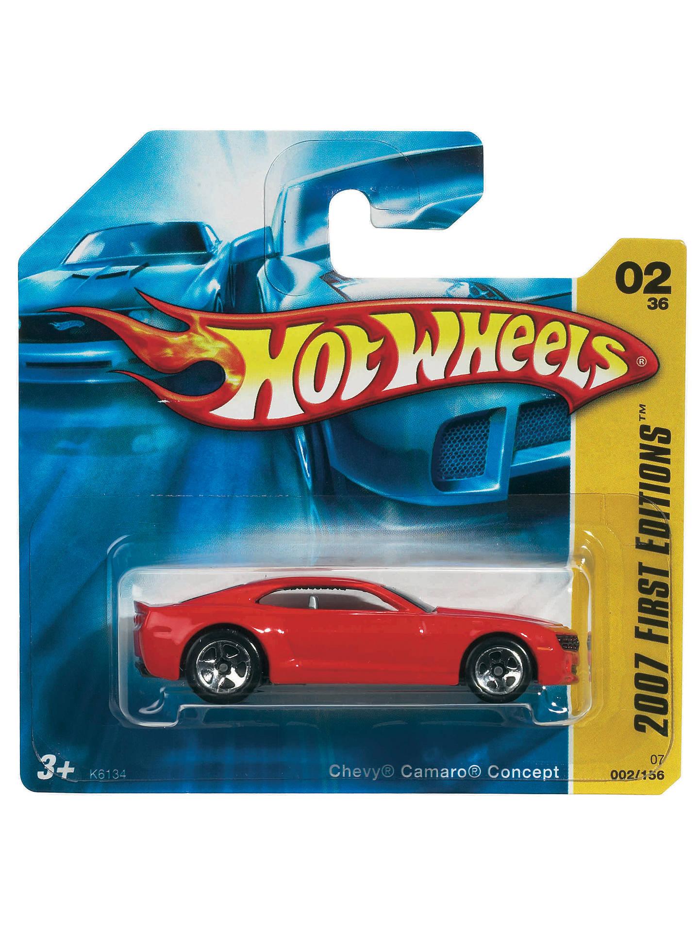 Hot Wheels Single Cars Assorted At John Lewis Partners