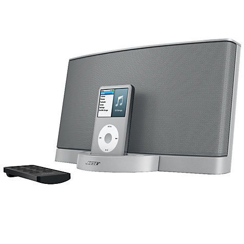 Buy Bose® SoundDock® digital music system, Silver Online at johnlewis.com