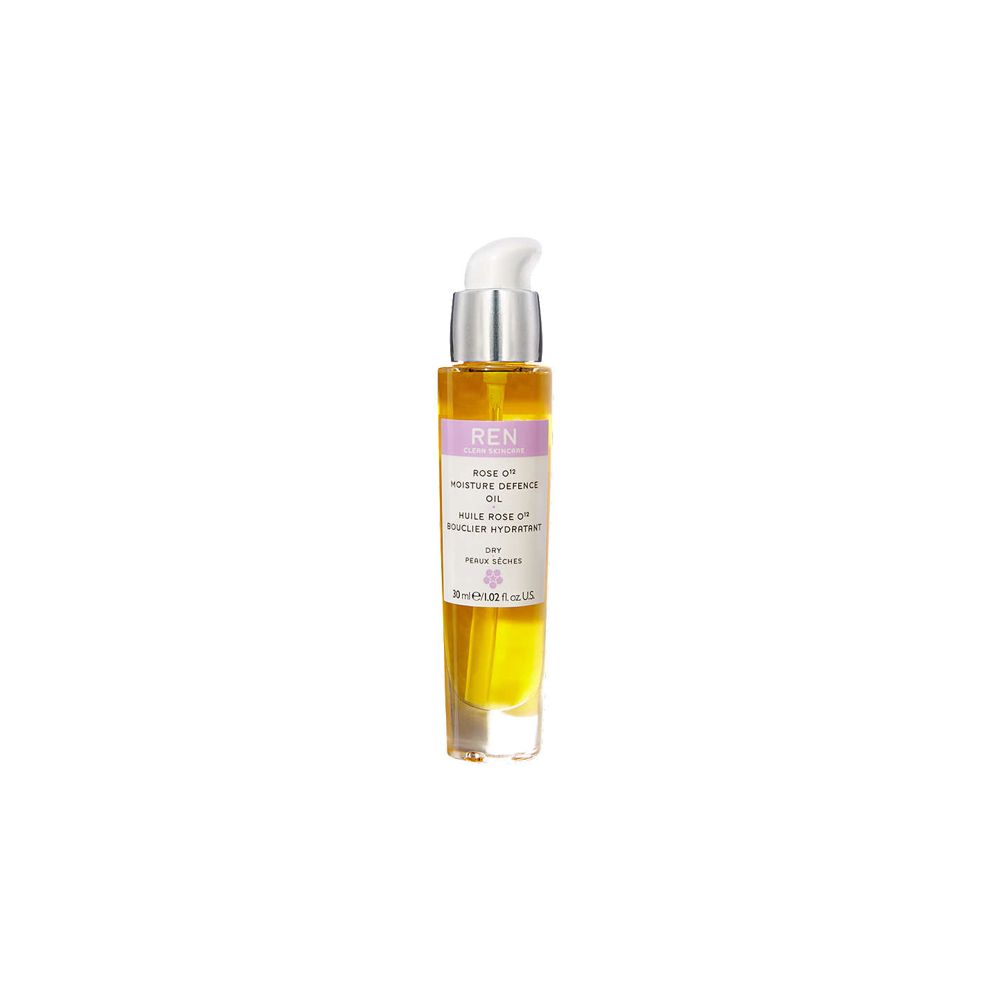 BuyREN Rose O¹² Moisture Defence Oil, 30ml Online at johnlewis.com