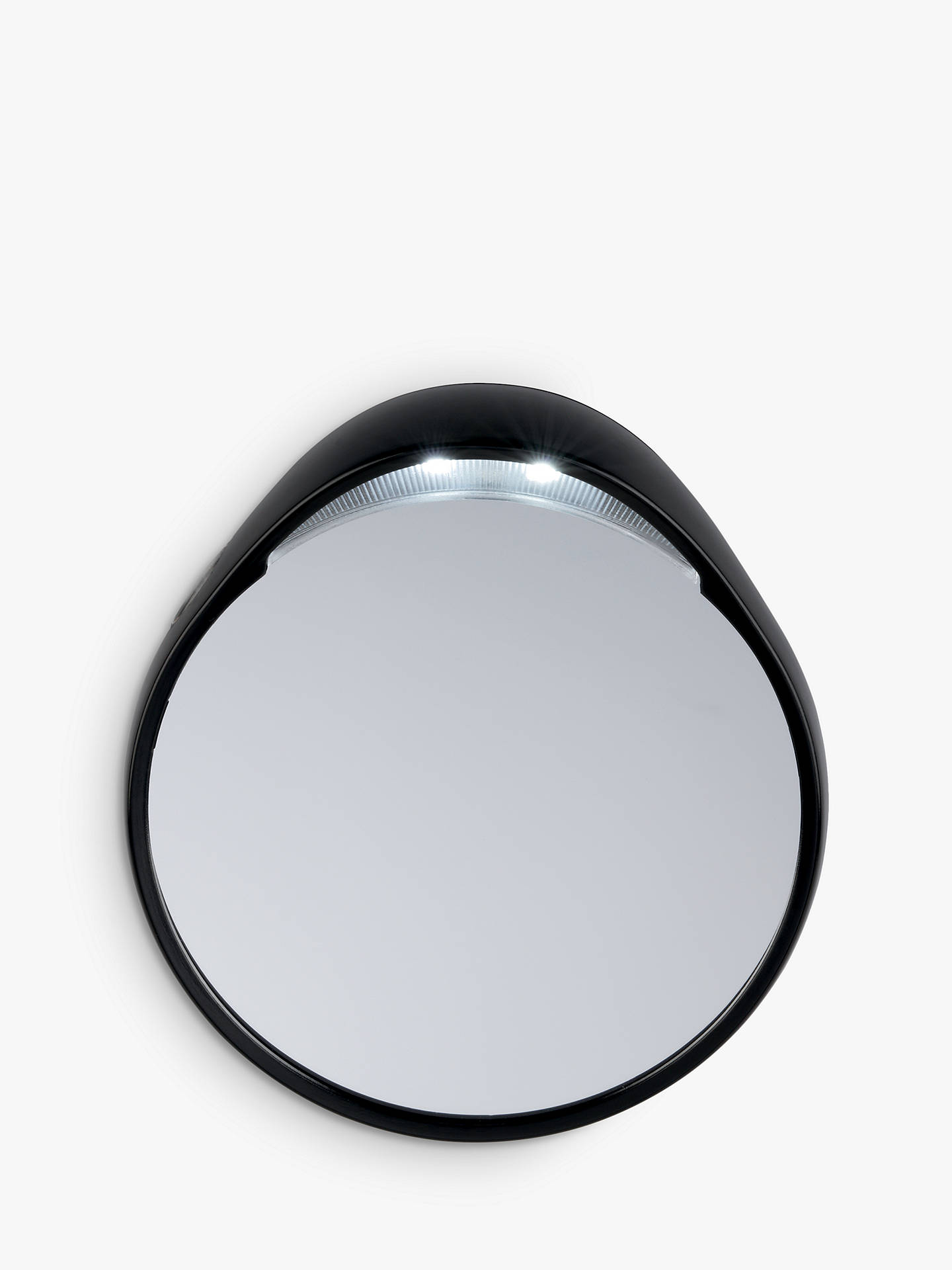 Tweezermate 10x Lighted Mirror, Silver by Tweezerman