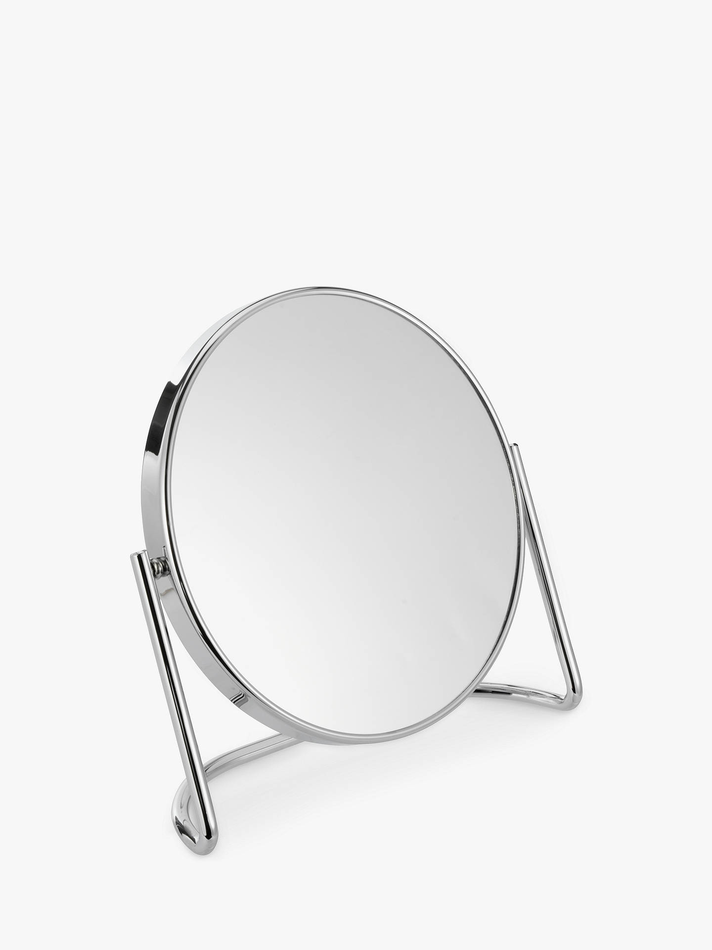 BuyJohn Lewis & Partners D-Stand 7x Magnification Mirror, Chrome Online at johnlewis.com