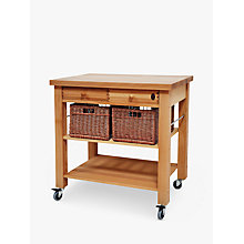 Buy Eddingtons Lambourn Butcher's Trolley, 90cm Online at johnlewis.com