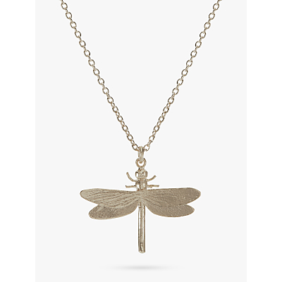 Product photo of Alex monroe dragonfly necklace silver