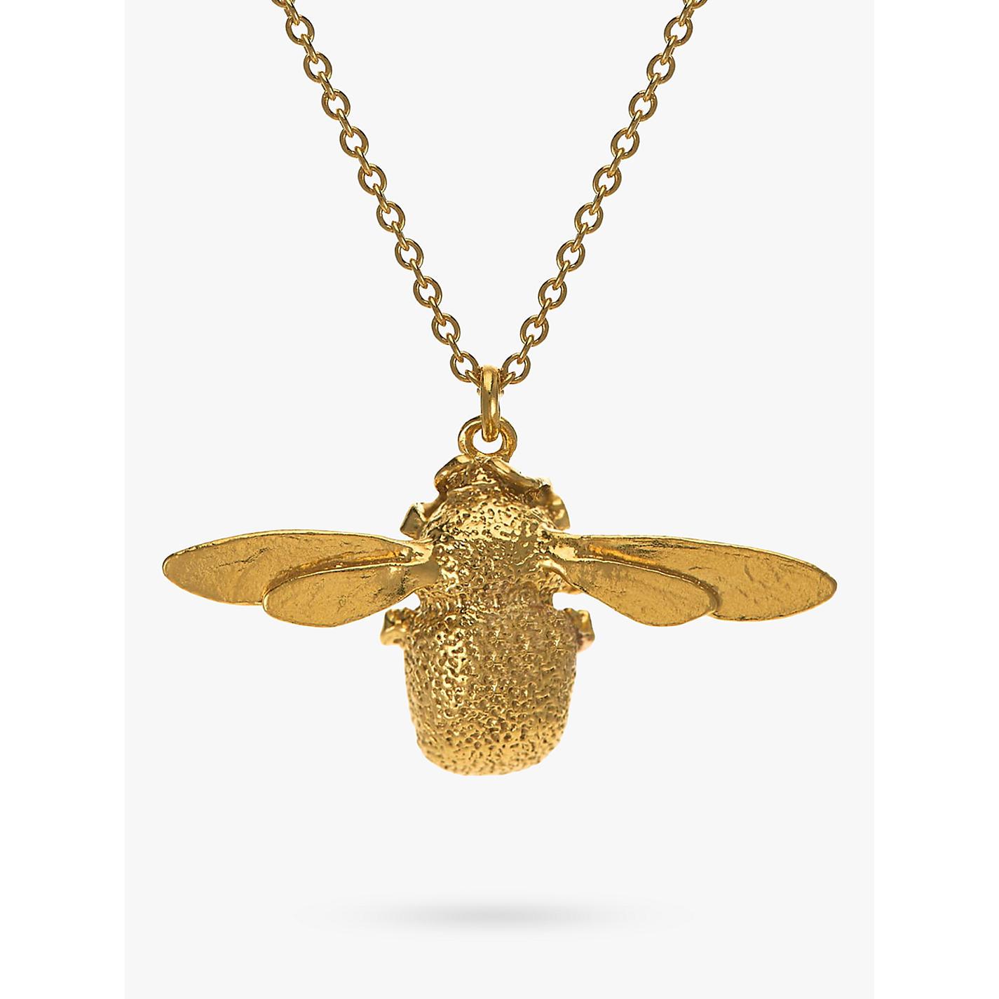 Buy alex monroe 22ct gold vermeil bumble bee pendant necklace buy alex monroe 22ct gold vermeil bumble bee pendant necklace gold online at johnlewis aloadofball Choice Image