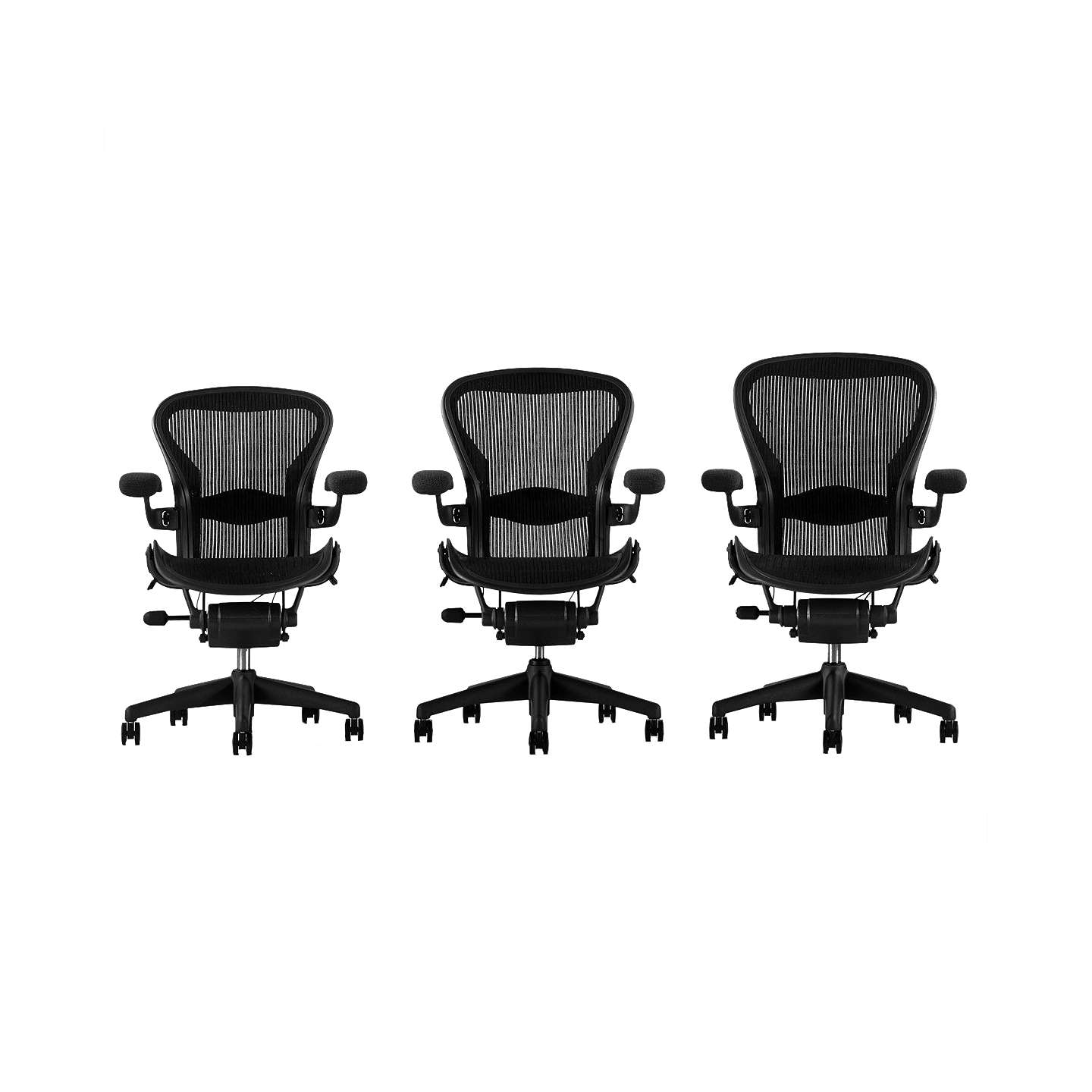 herman miller classic aeron office chair at john lewis