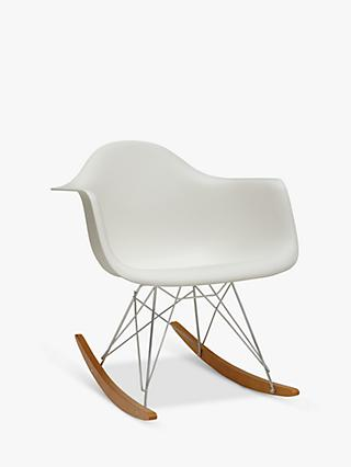 Vitra Eames RAR Rocking Chair, White
